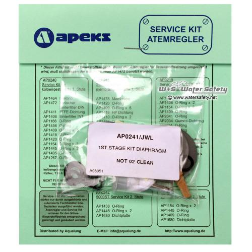 Apeks 1. Stufe Service Kit AP0241