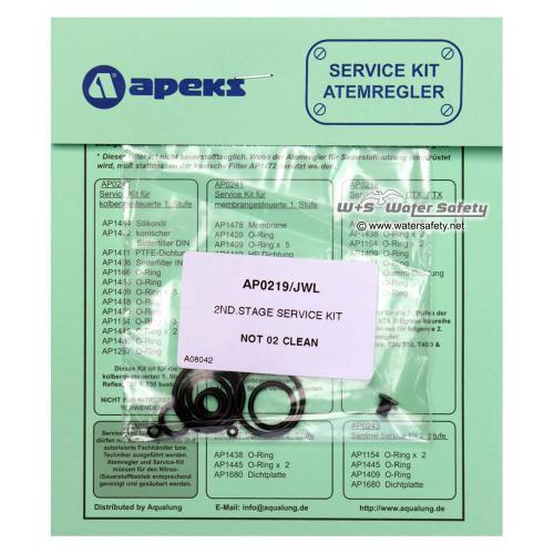 Apeks 2. Stufe Service Kit AP0219