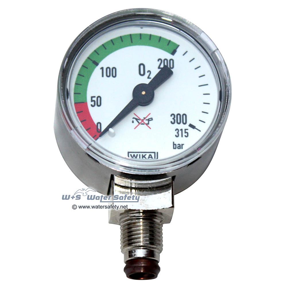 WIKA O2 Manometer für Druckminderer - 200 bar | Online ...