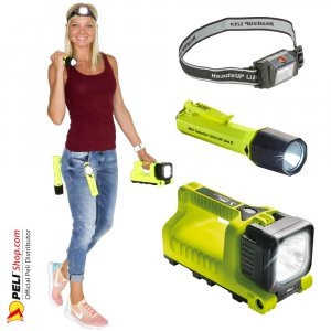 Peli ATEX Zone 1 & Zone 0 Lights
