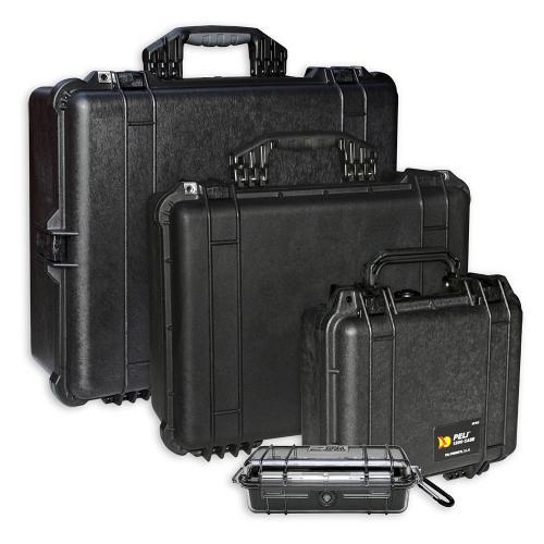 Peli Cases Color Black