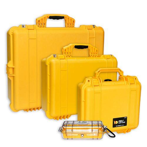 Peli Cases Color Yellow