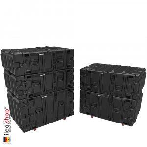 Peli-Hardigg Rack Mount Cases Classic V-Series - CLASSIC-V-3U-M6, CLASSIC-V-4U-M6, CLASSIC-V-5U-M6, CLASSIC-V-7U-M6, CLASSIC-V-9U-M6