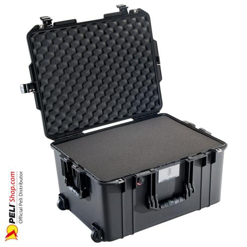 1607 AIR Case, PNP Latches, With Foam, Black
