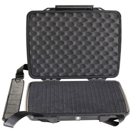 1075 HardBack Case W/Foam, Black