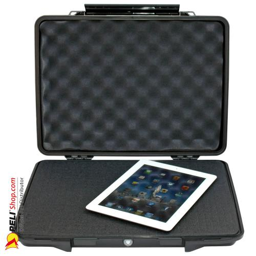 1095 HardBack Case W/Foam, Black
