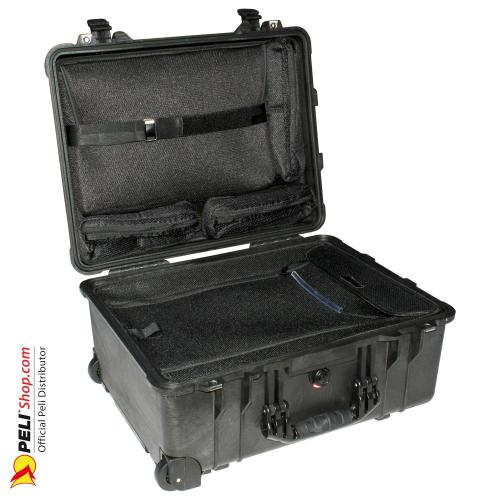 1560LOC Laptop Overnight Case, Black