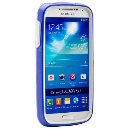 CE1250 Protector Series Case for Galaxy S4, Blue/White