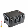 1637 AIR Case, PNP Latches, With Foam, Black 1